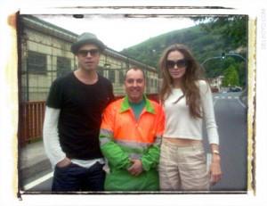 Brad Pitt Angelina Jolie bilbao