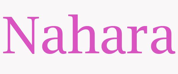 significado de nahara