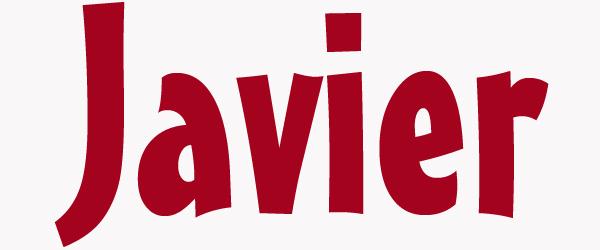 significado de javier