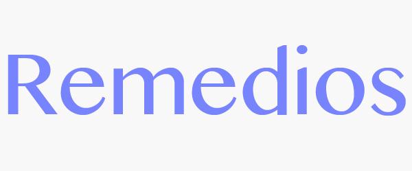 significado remedios