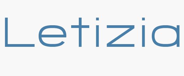 significado de letizia