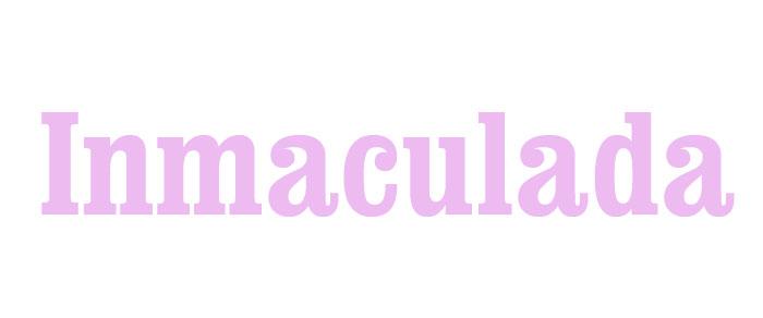 significado de inmaculada