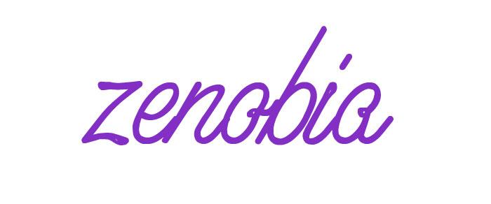 significado nombre zenobia