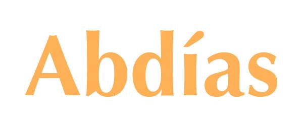 Significado de Abdías