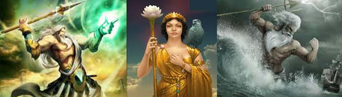 dioses griegos del olimpo