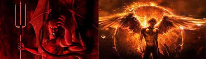 satanas y lucifer