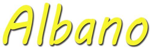 significado de Albano
