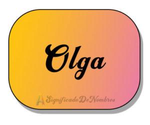 significado de Olga