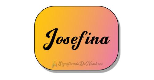 significado de josefina